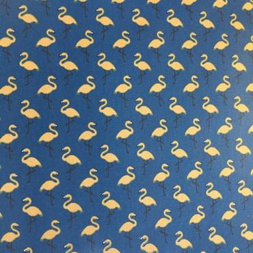 flamingo or/bleu