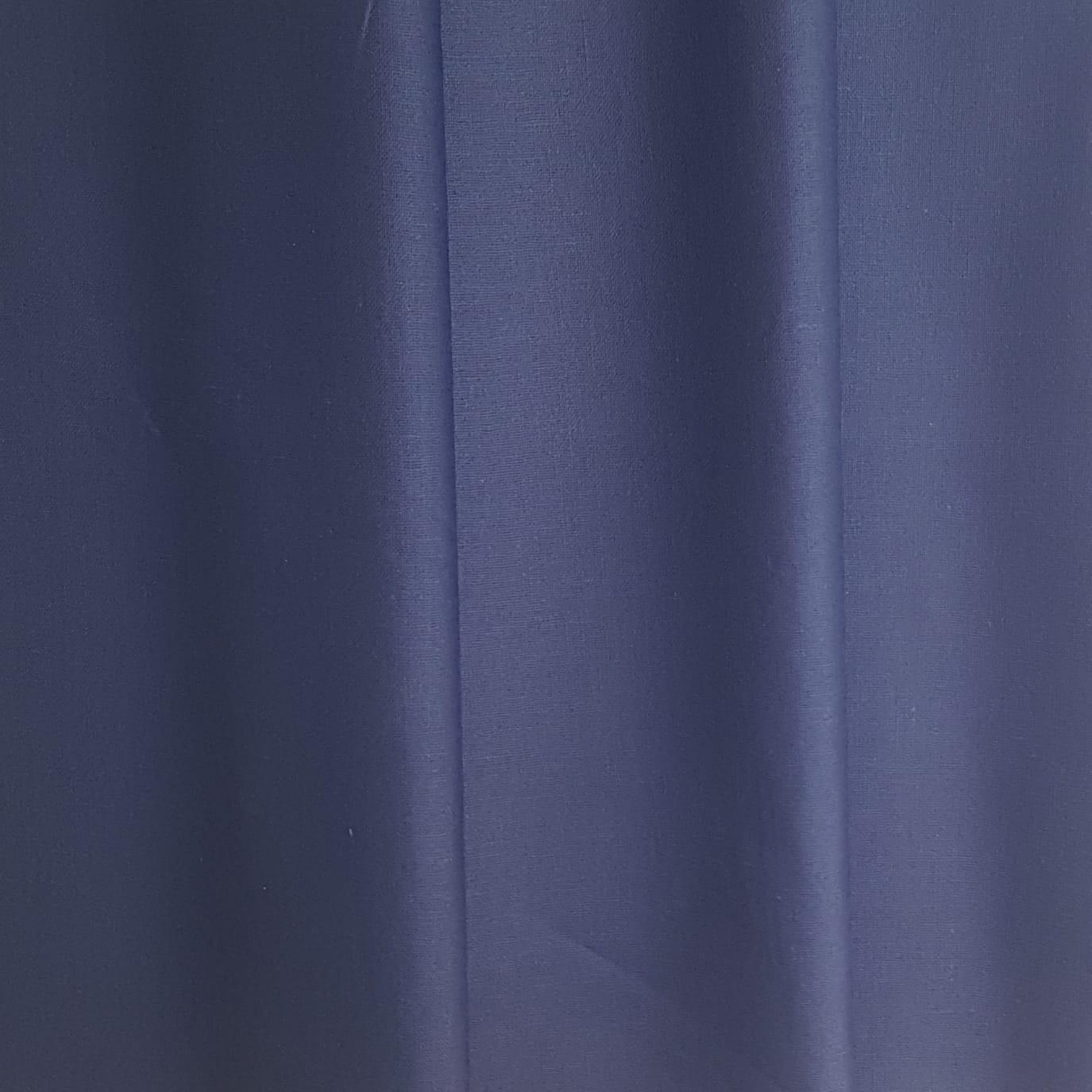 Lin enduit bleu marine