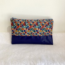 kit trousse clara liberty bleu/orange