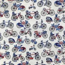 petits vélos bleu/rouge