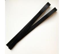 anses en cuir noir 70cm