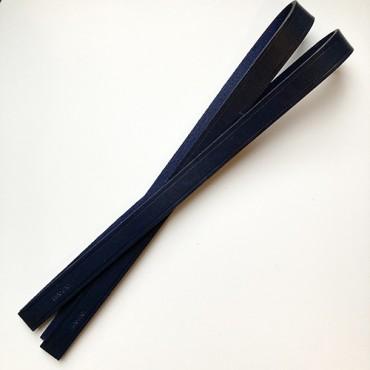 anses en cuir marine 70cm
